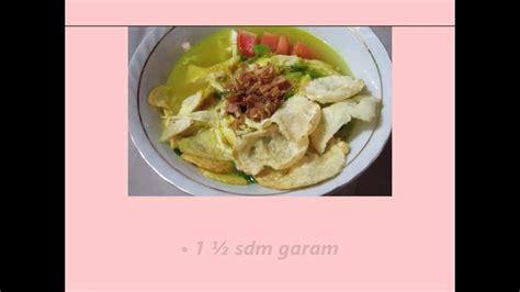 google cara membuat soto ayam resep masakan soto ayam ambengan jawa timur youtube