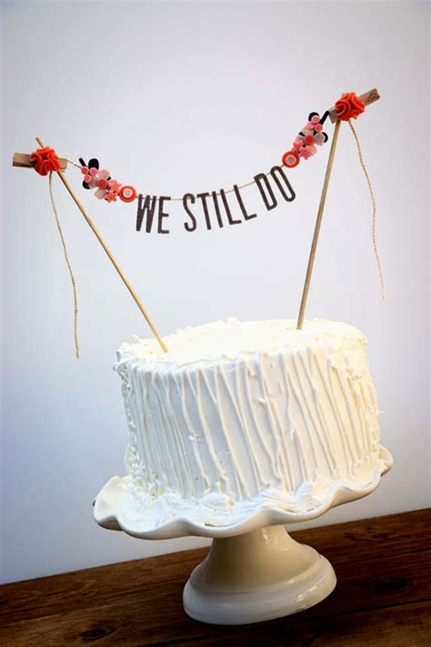 Wedding Banner Cake Topper by Wedding Cake Banner Wedding Cake Topper Wedding Cake