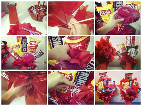 Cooking Gift Ideas For Him S Day Diy Gifts For Him Junk Food Bouquet I