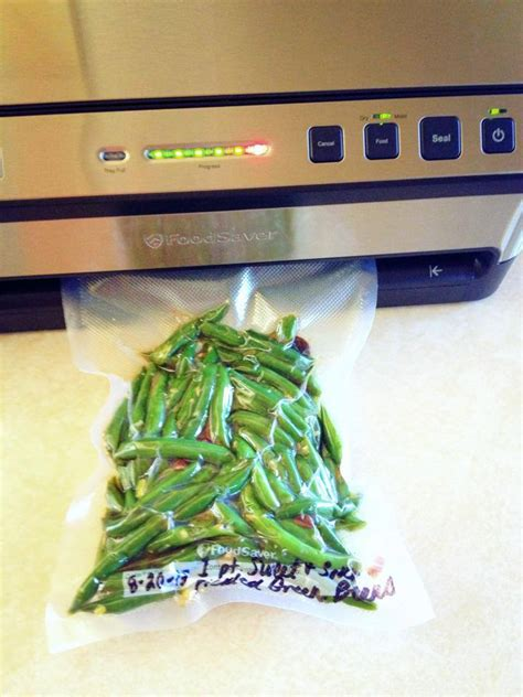 Bean Sealer vacuum sealing freezer pickles with my foodsaver the of preserving made easy