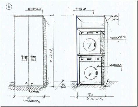 Altezza Lavatrice E Asciugatrice by Areamobili Mobile Porta Lavatrice E Asciugatrice Anche