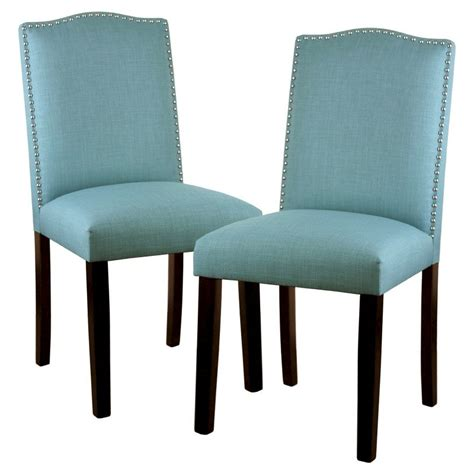 Nailhead Trim Chair by Camelot Dining Chair With Nailhead Trim Set Of 2 Everything Turquoise
