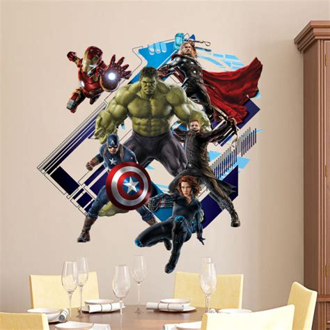 imagenes en 3d marvel hohe qualit 228 t gro 223 handel superhero aufkleber aus china