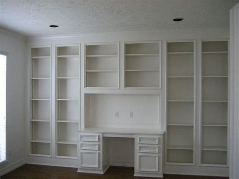built in desk and shelves study with built in desk and shelves my home