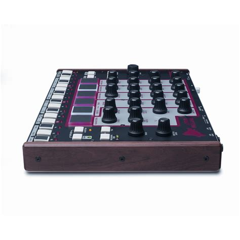 rhythm wolf drum machine and bass synth akai rhythm wolf controller drum machine bass synthesizer