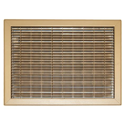 10 X 16 Floor Vent Cover by 10x16 Driftwood Vent Cover Steel Shoemaker 1550 Series