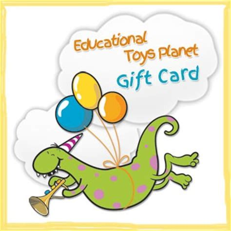 Gift Card Planet - gift card educational toys planet