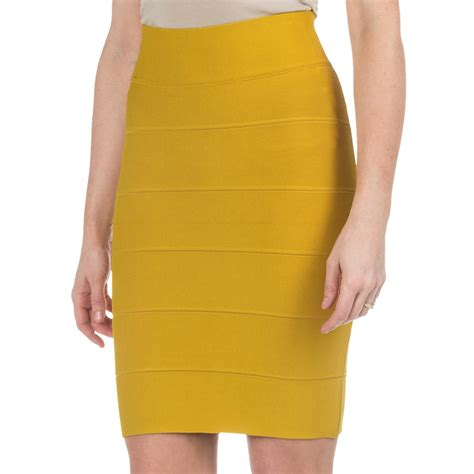 solid stretch knit skirt for save 89