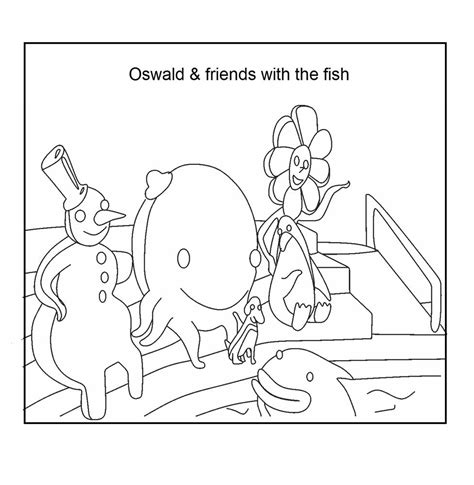 oswald the octopus pages coloring pages