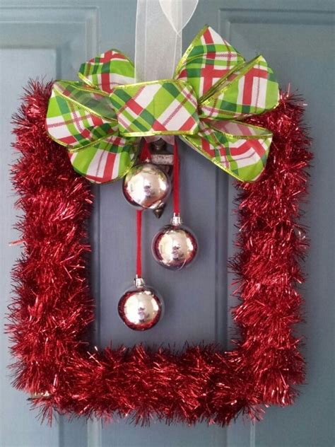 diy wire frame christmas decorations 25 unique frame wreath ideas on picture frame wreath picture frames and
