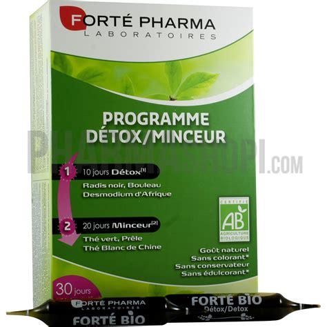 Detox Medicament by Programme D 233 Tox Minceur Fort 233 Pharma Boite De 30 Oules