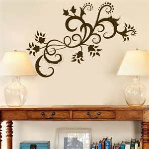 Floral amp grasses 187 paisley swirls and flowers vinyl wall decals