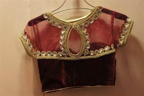 blouse pattern works embroidery work blouse designs backlessblouse com page
