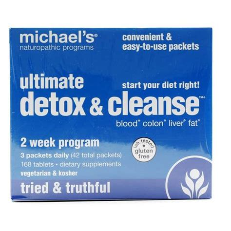 Ultimate Detox And Cleanse by Michael S Ultimate Detox And Cleanse 1 Kit Evitamins
