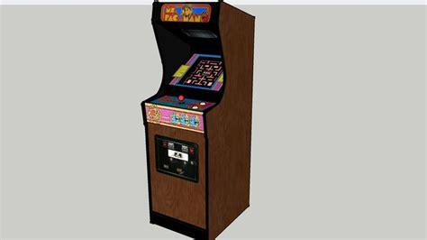 Pacman Cabinet Plans by Ms Pacman Cabaret Build Plans Classic Arcade Cabinets