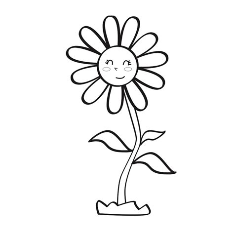 dibujos infantiles org margaritas para colorear pintar e imprimir