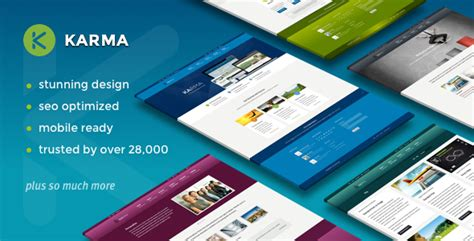 wordpress themes karma free karma responsive wordpress theme premium wordpress