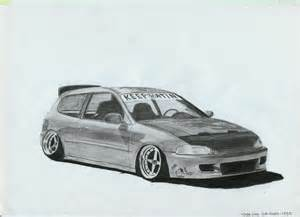 honda civic eg6 hellaflush by lilshark697 on deviantart