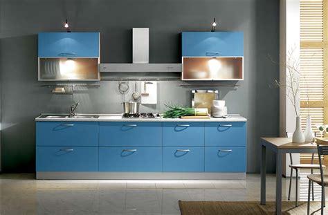 cucina azzurra colori pareti cucina come scegliere il colore con la