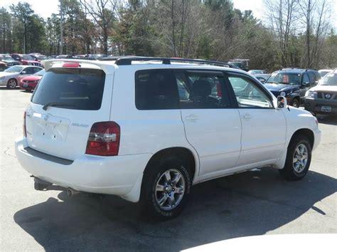 2007 Toyota Highlander Mpg 2007 Toyota Highlander Awd 4dr Suv V6 W 3rd Row In Concord