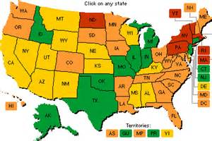 Images of Homeschool Friendly States
