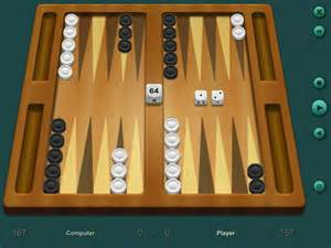 Play backgammon against your computer 3 levels available software