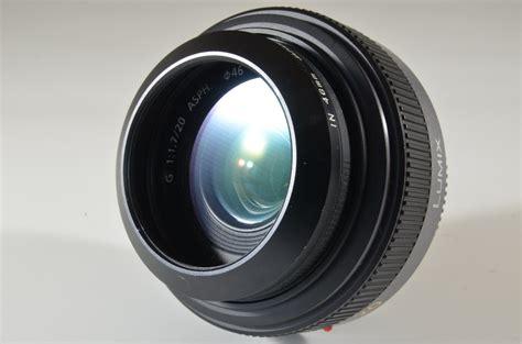 Panasonic Lumix 20mm F 1 7 Asph panasonic lumix g 20mm f 1 7 asph h h020 lens a0038