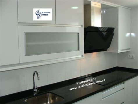 encimeras negras de granito muebles de cocina avda madrid 4 en tres cantos blanco y