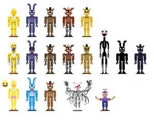 Artwork fnaf pixel art made by me i cubeupload com