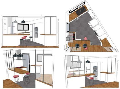 cuisine en perspective cuisine en perspective photos de conception de maison