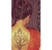 Tattoo Girl With Ganesh Tattoos