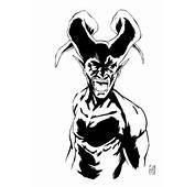 Devil Tattoo Sketch By TommyDamnInks