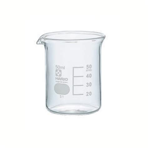 Gelas Beaker Gelas Kimia Herma 50ml 50ml graduated glass beaker