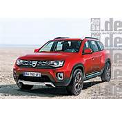 2017 Dacia Duster/Renault Duster To Grow By 150 Mm – Report