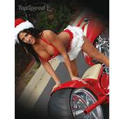 Motoblogn Motorcycle Santas Holiday Helper Pin Up Girls