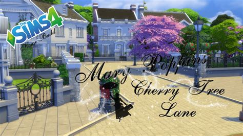 sims 4 cherry tree the sims 4 house build poppins cherry tree part 1