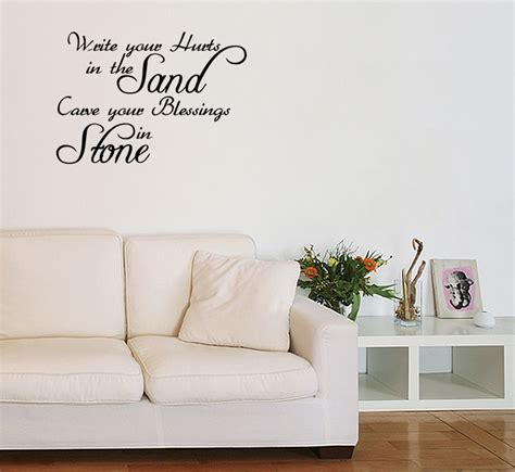 bible verse wall stickers write your hurts in the sand wall quote decal vinyl sticker bible verse
