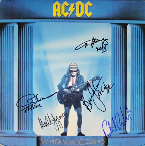 who makes acdc who made who album cover www pixshark com images
