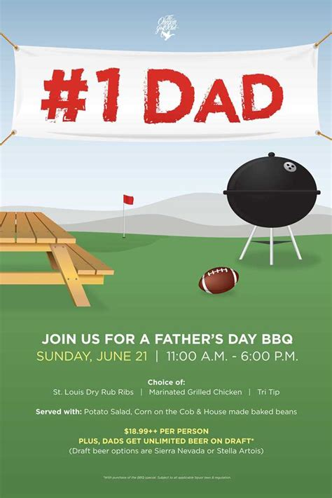 fathers day template s day bbq flyer poster template s day