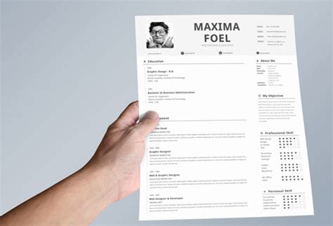 Resume Template Best Design 50 Beautiful Free Resume Cv Templates In Ai Indesign