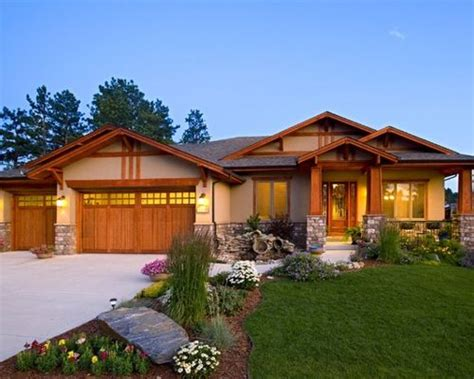 craftsman exterior home design ideas remodels photos