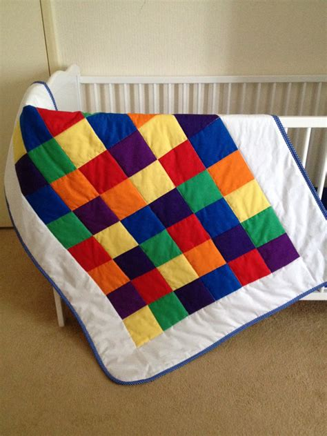 Rainbow Crib Bedding Crib Bedding Rainbow Crib Set Rainbow Quilt By Angiespatch On Etsy