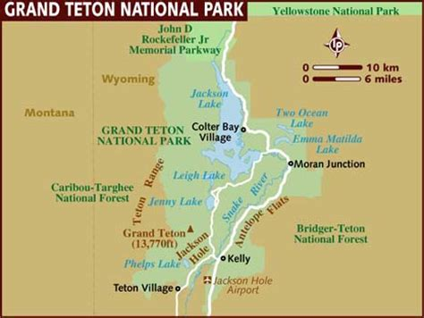 grand national park us map grand teton np in one day trailer traveler