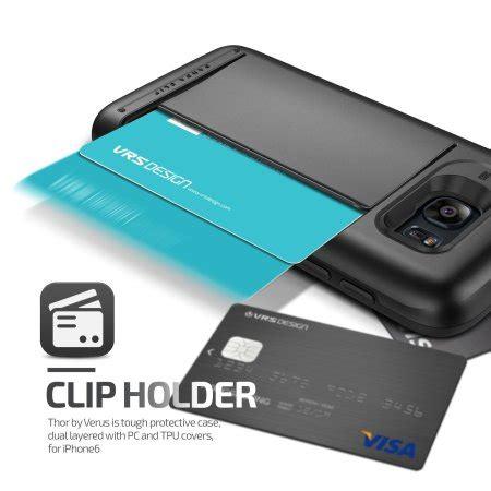 Casing Samsung Galaxy S7 Edge Verus Damda Card Slide Soft Cas verus damda clip samsung galaxy s7 edge steel
