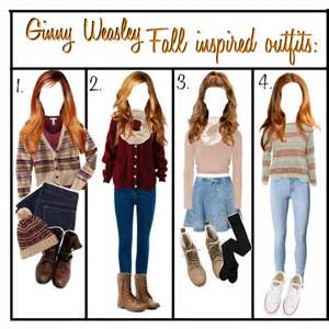 ginny weasley fall inspired polyvore