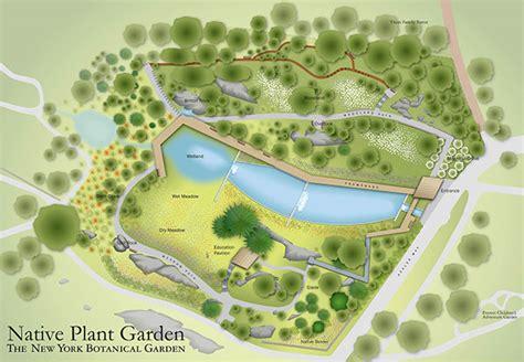 Bronx Botanical Garden Map Garden Wayfinding Maps On Behance