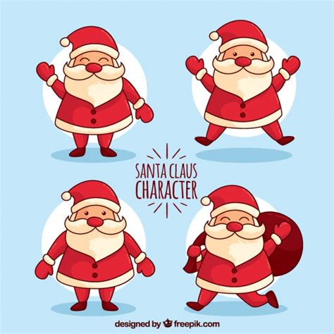 Santa Claus Sinterklas santa claus collection vector free