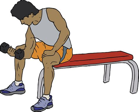 cartoon bench press free pictures weight 74 images found