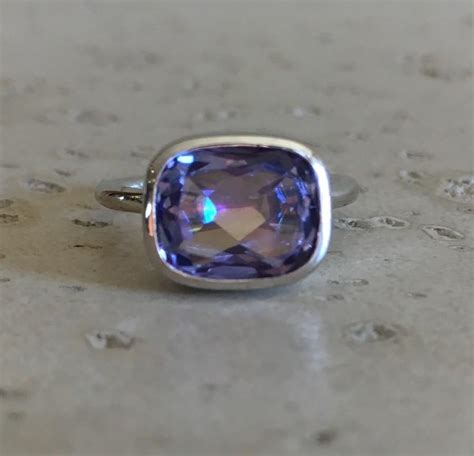 rectangle mystic topaz ring promise ring topaz ring