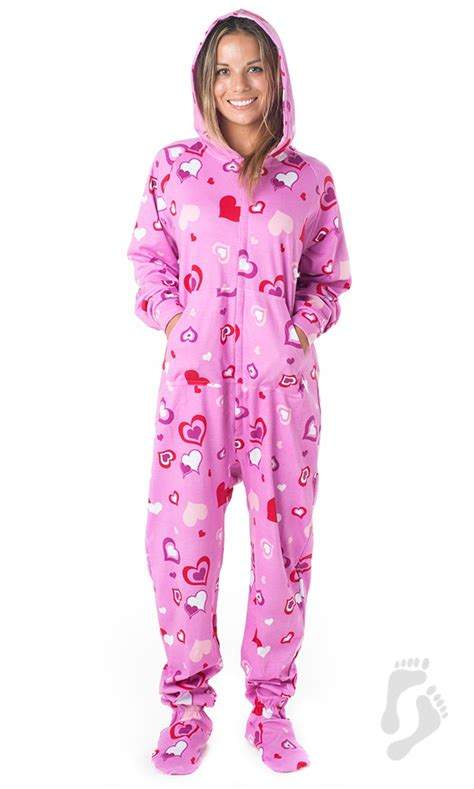 footie pajamas sweetheart hoodie cotton footed pajamas hoodie pajamas cotton hoodie